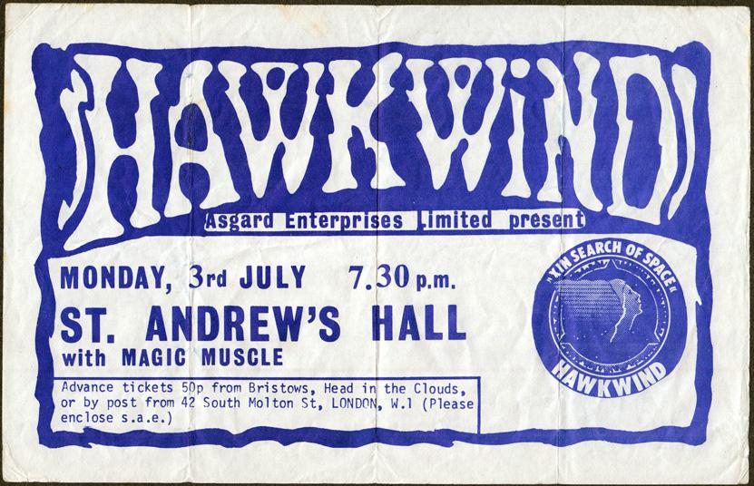 1972_July 3_Hawkwind Flyer