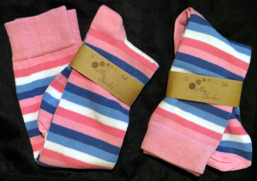 2015_Aug 12_Stripy Socks