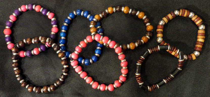 2015_Aug 14_Beaded Bracelets