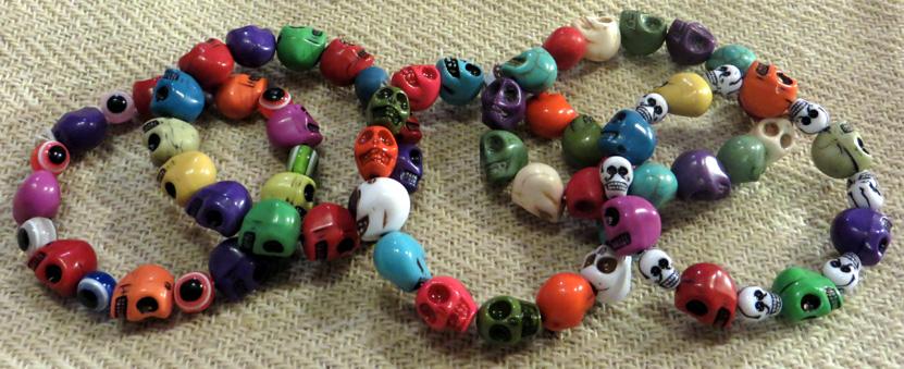 2015_Aug 14_Skull Bracelets