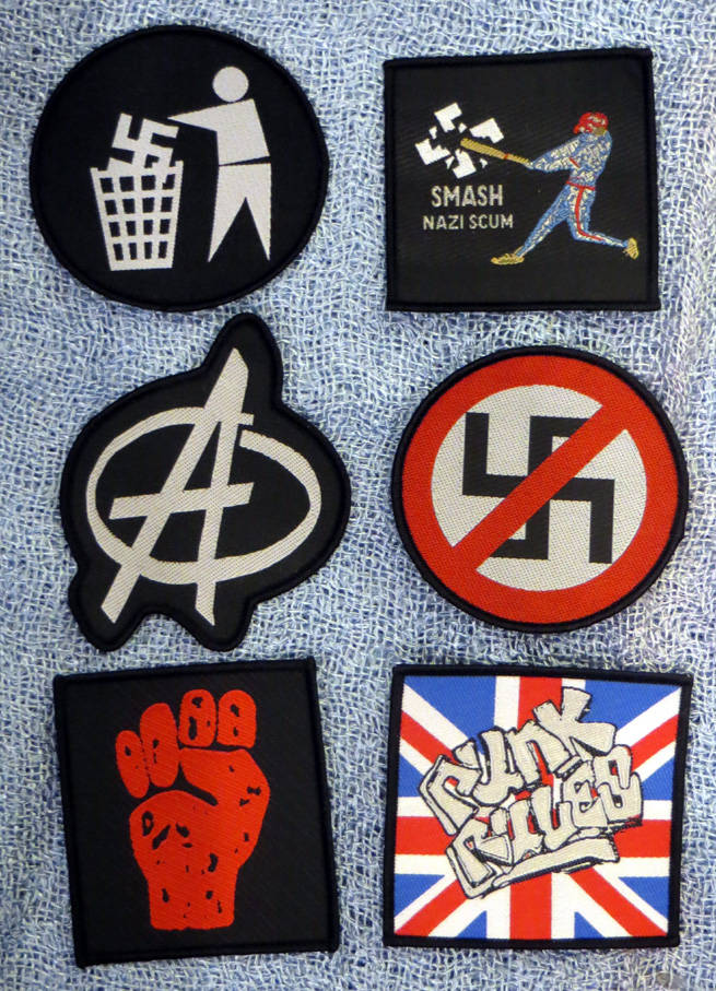 2015_Aug 21_Cloth Patches - Anarchy