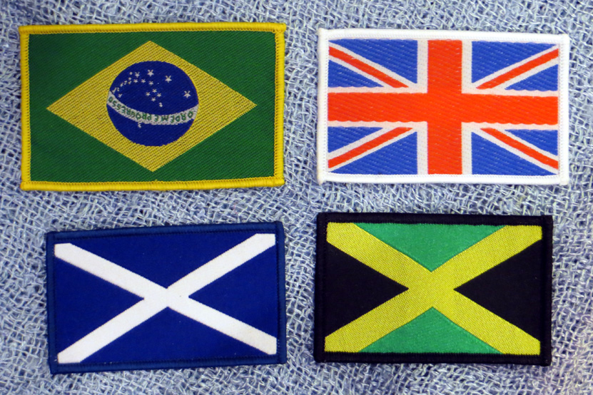 2015_Aug 21_Cloth Patches - Flags