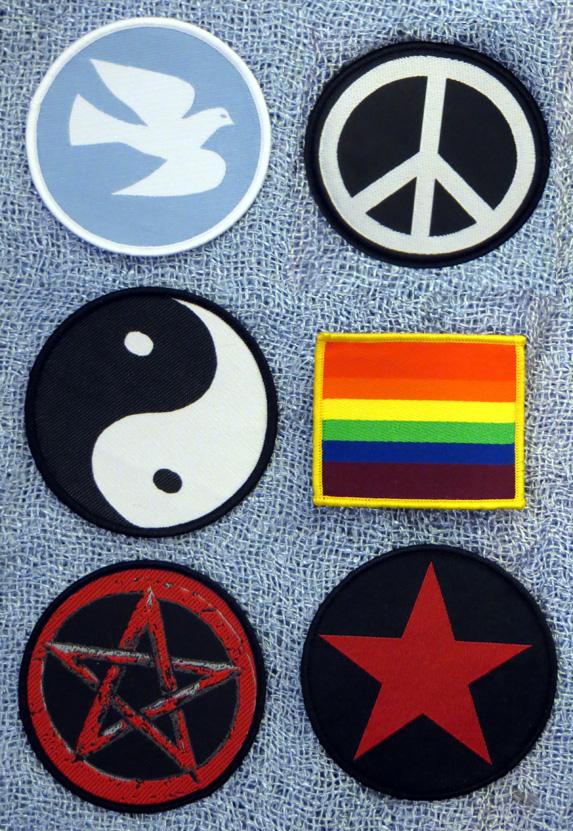 2015_Aug 21_Cloth Patches - Peace2