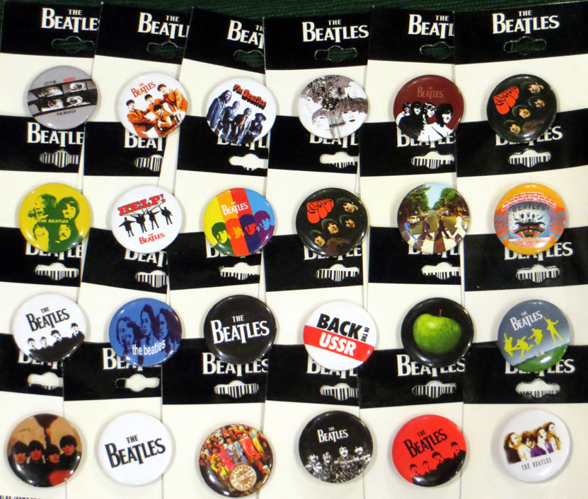 2015_June 05_Beatles Badges