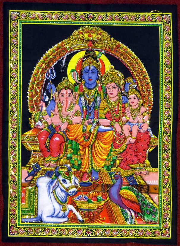 2015_May 03_Deity 08_Shiva family
