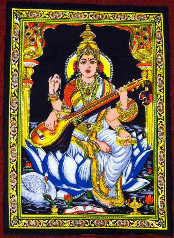 2015_May 03_Deity 09_Saraswati