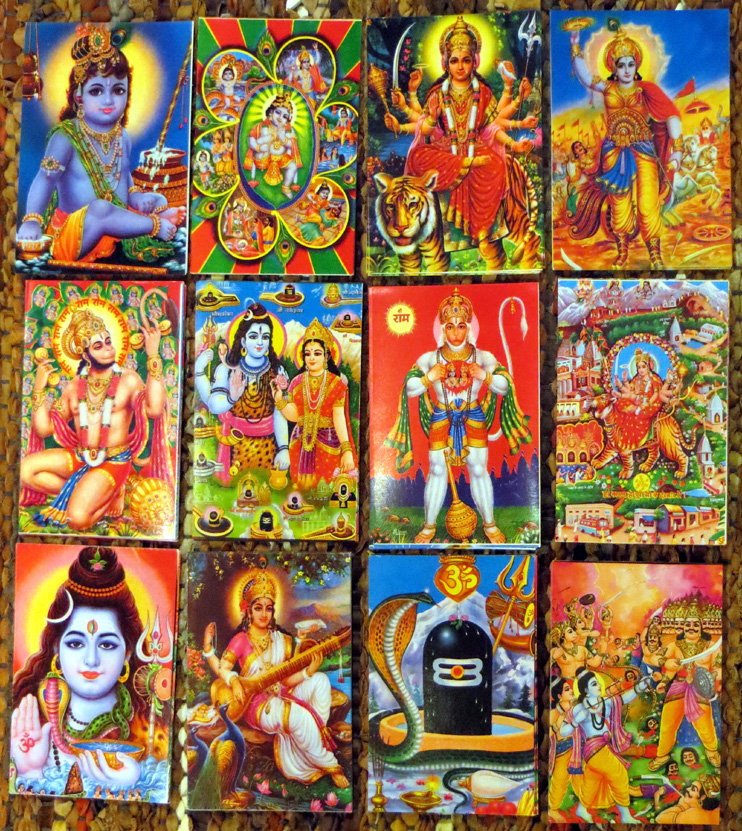 2015_Nov 15_Hindu Gods Postcards 2