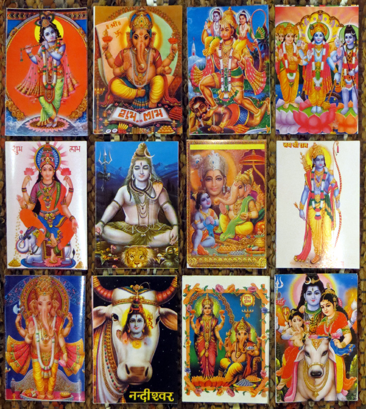 2015_Nov 15_Hindu Gods Postcards 4