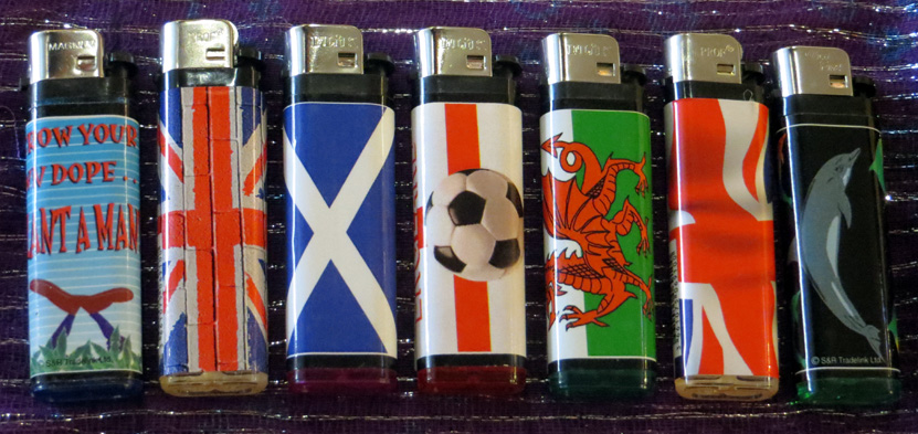 2015_Oct 24_Stickered Lighters