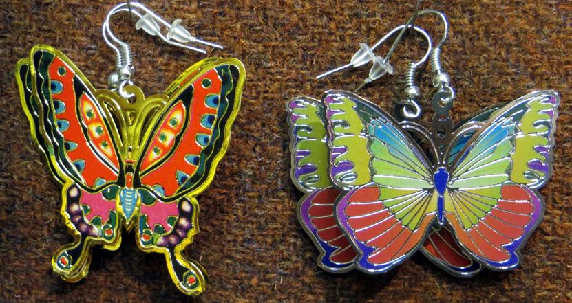 2016_Feb 27_Butterfly Earrings