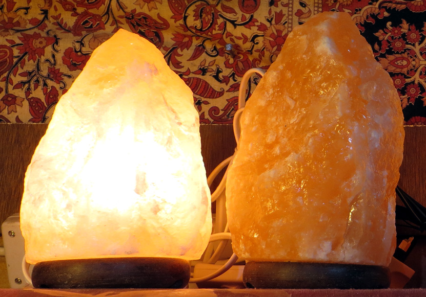 Salt Lamp Care Instructions : Salt Lamps - Head In The Clouds
