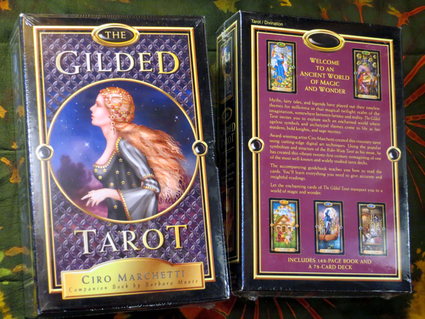2016_May 13_Gilded Tarot
