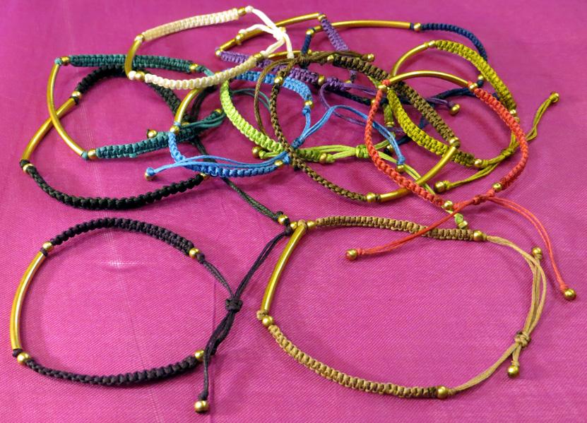 2016_May 15_Macrame Bracelets 1