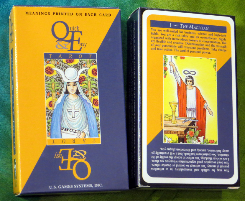 2016_May 21_Quick & Easy Tarot