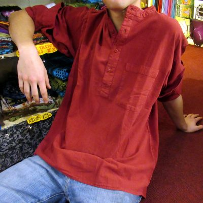 2018_Nov 11_Fine Shirt Red