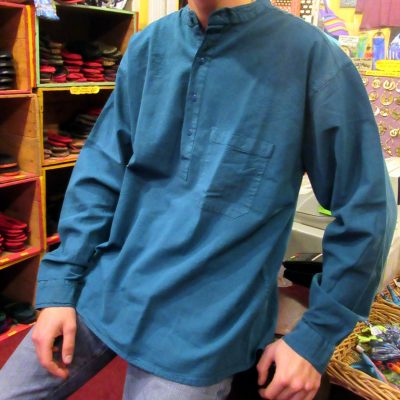 2018_Nov 11_Fine Shirt Teal