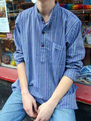 2018_Nov 11_Nepalese Striped Shirt 08