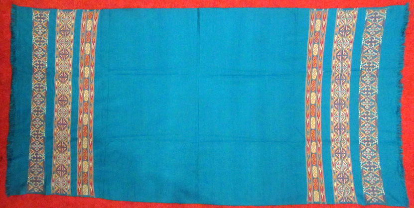 Acrylic Shawls (£12) – Dimensions vary slightly, 203~204 x 93~100 cm.