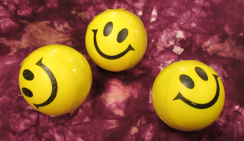 Smiley Foam Balls (£1)