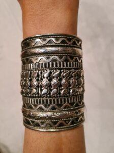 Tribal Detail Cuff Bracelet