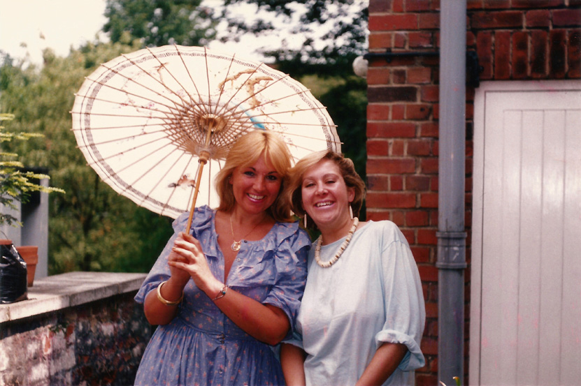 1985_July_Nadia and Gail, HITC