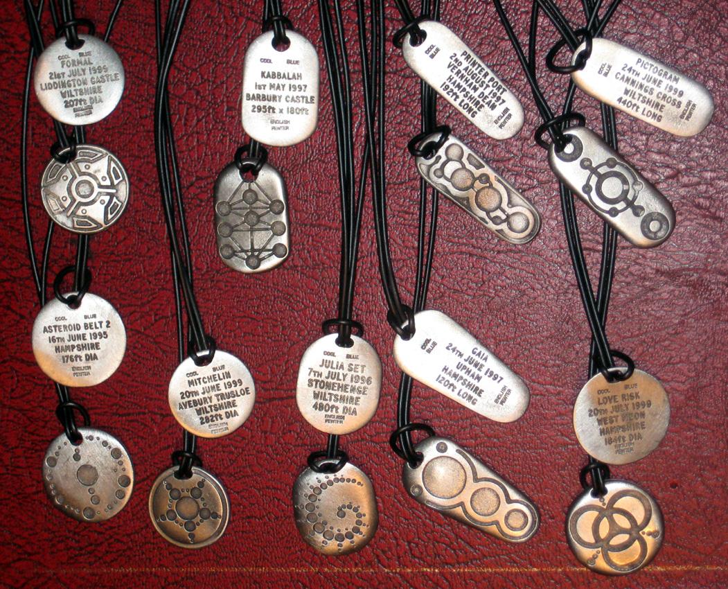 2012_July 15_Crop Circle necklaces