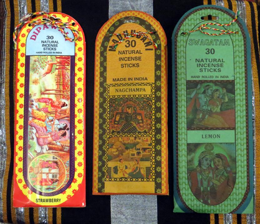 2014_Nov 02_Indian Incense - 30 sticks