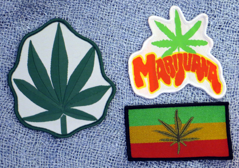 2015_Aug 21_Cloth Patches - Leaf