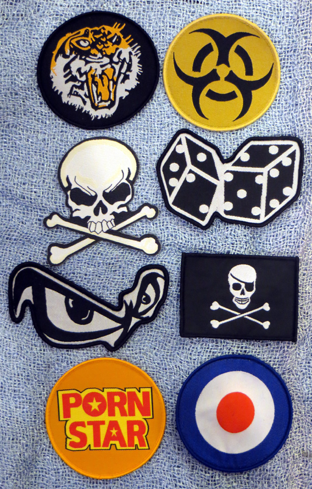 2015_Aug 21_Cloth Patches - Misc