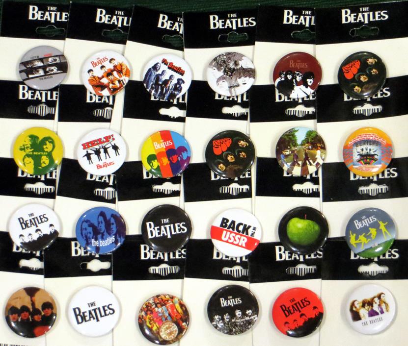 2015_June 05_Beatles Badges