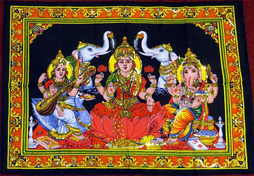 2015_May 03_Deity 01_Laxmi, Ganesh and Saraswati