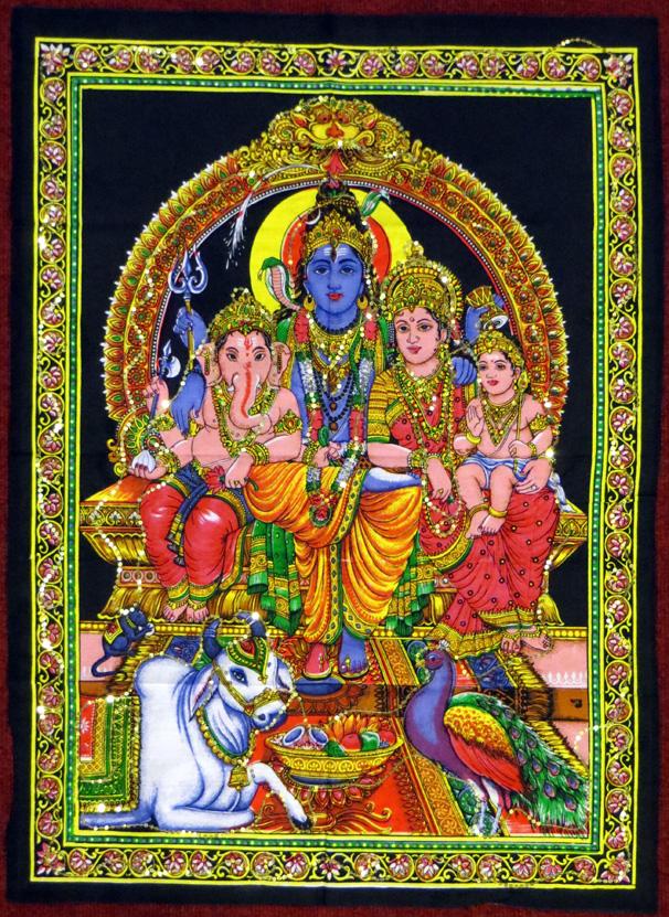 2015_May 03_Deity 08_Shiva family