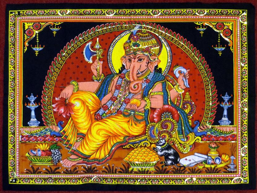 2015_May 03_Deity 10_Laying Ganesh