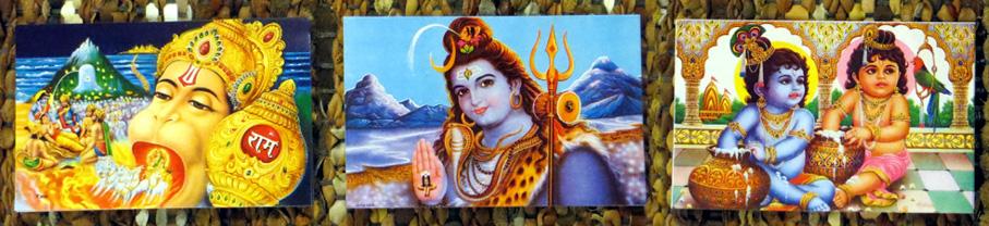 2015_Nov 15_Hindu Gods Postcards 1b