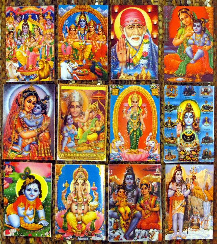 2015_Nov 15_Hindu Gods Postcards 3