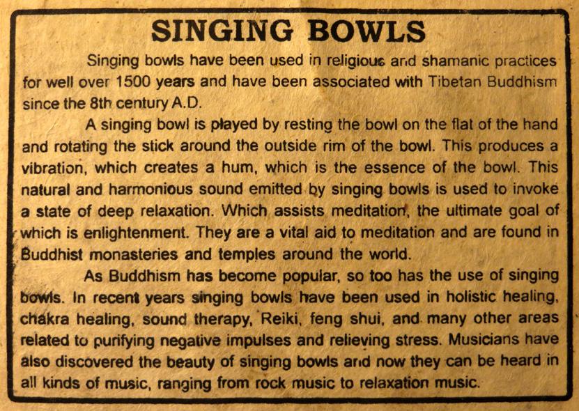 2016_Feb 27_Singing Bowls