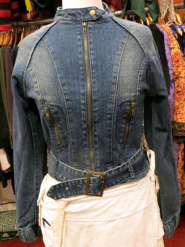 Denim Jacket (£30) - Available in S, M, XL, XXL and XXXL.
