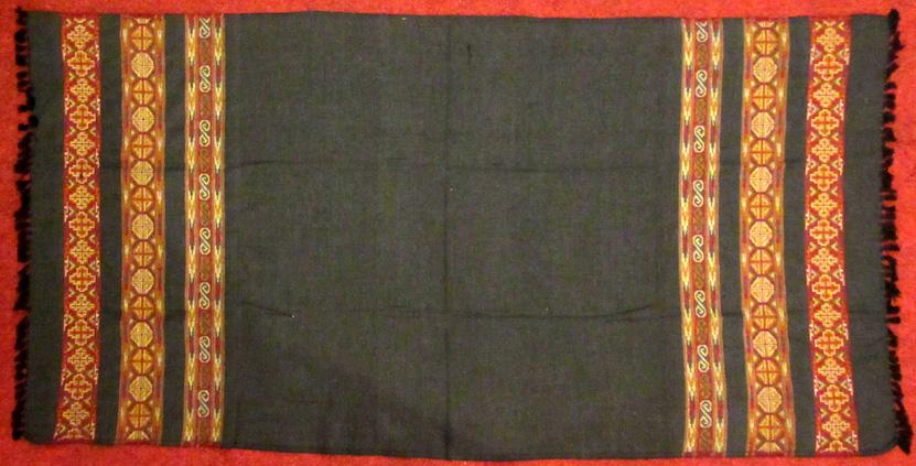 Acrylic Shawls (£12) – Dimensions vary slightly, 203~204 x 93~100 cm.