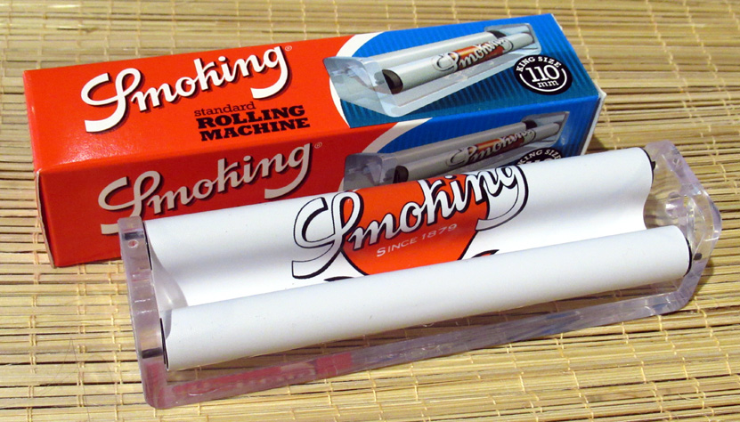 King-Size Rolling Machine by Smoking (£3) - For papers up to 11 cm long.