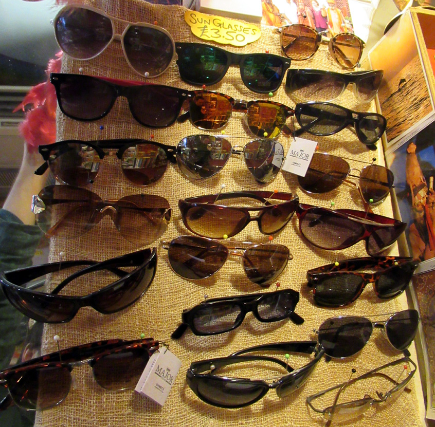 Sunglasses (£3.50)
