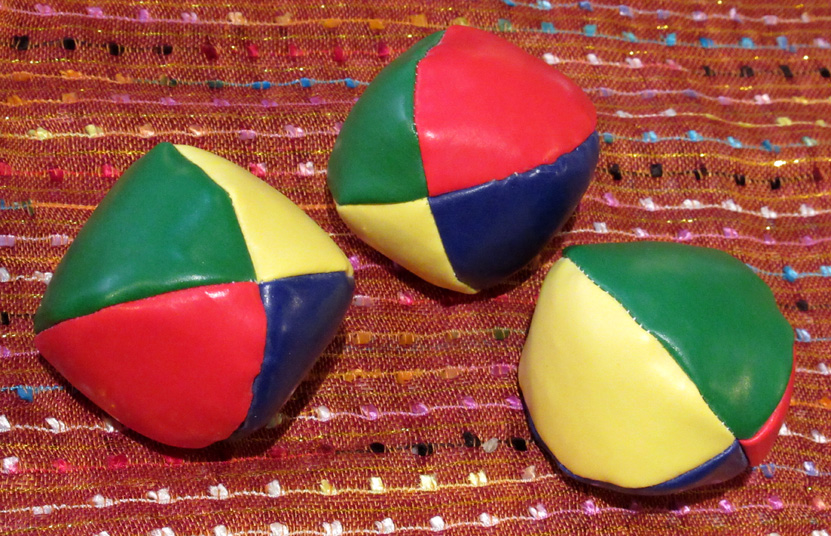 Juggling Balls (£1.25 each, 3 for £3)