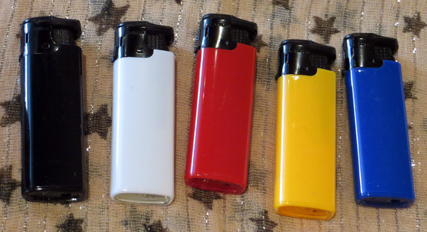 Extra turb flame lighters